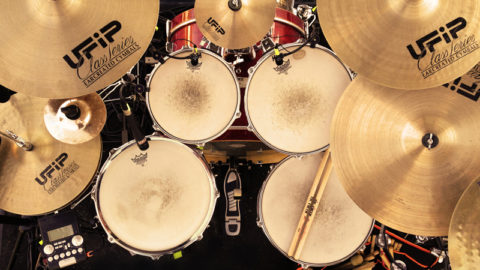 "my ""pop"" drum set"