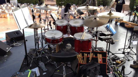 Drum set forte village 2014