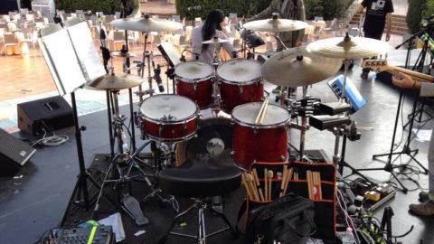 Drum set forte village 2014