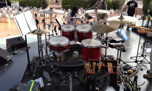 Drum set Forte Village - 2014