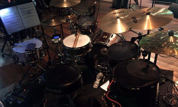 DrumMa - Namibia drum set - live 2018