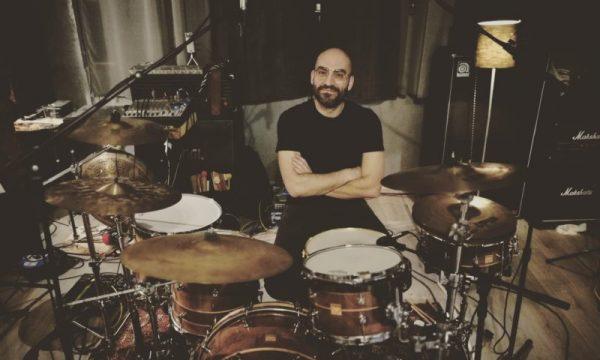 DrumMa - Walnut drum set - Live recording ground custom 2019